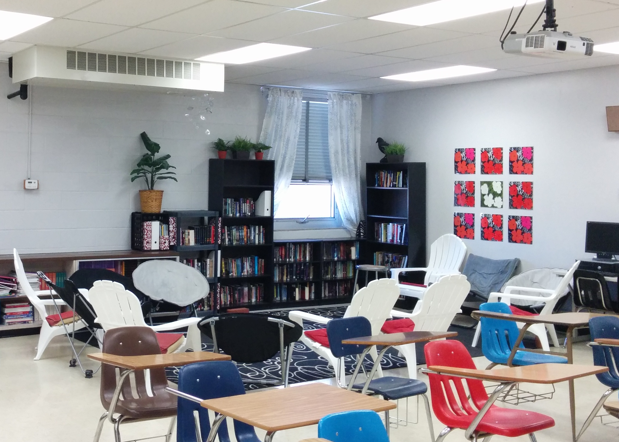 Classroom Design For High School ~ Reading classroom layout high school teacher
